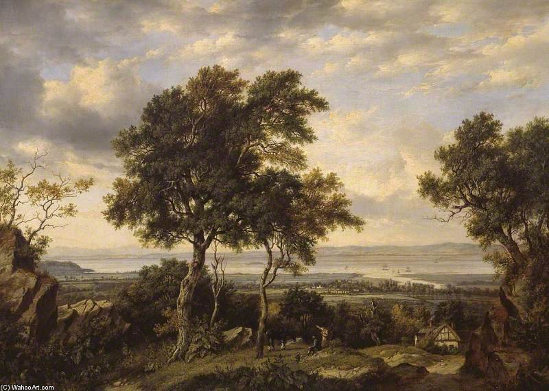 La Severn Off Portishead de Patrick Nasmyth (1787-1831, United Kingdom)