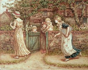 Kate Greenaway - Lucy Locket perdu sa poche