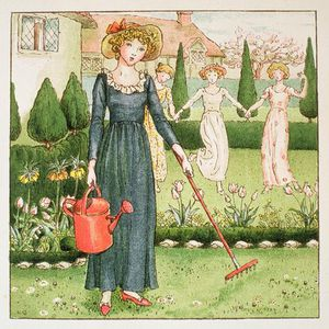 Kate Greenaway - Mary, Mary, Quite Contrary