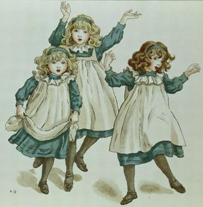 Kate Greenaway - Le souches de Polly Flinders
