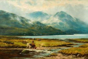 Henry Hadfield Cubley - Brumes matinales, Arrochar