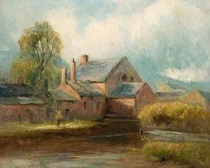 Henry Hadfield Cubley - l'ancienne mill