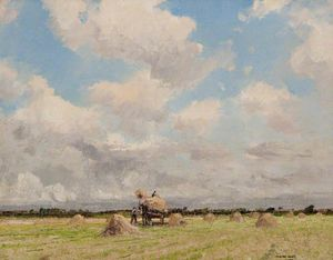William Page Atkinson Wells - Hay Making