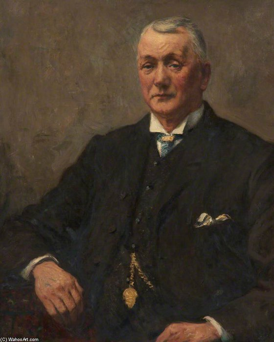 robert jackson , organiste of St Peter's Église de Frederick William Jackson (1843-1942, United States)