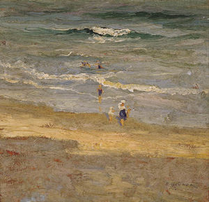 Elioth Gruner - Le Incoming Tide