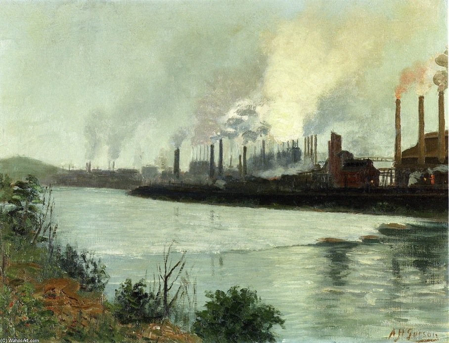 Bethlehem Steel de Aaron Harry Gorson (1872-1933, Lithuania)