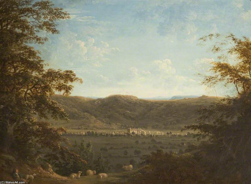 Dursley, Gloucestershire de Anthony Devis (1729-1816, United Kingdom)