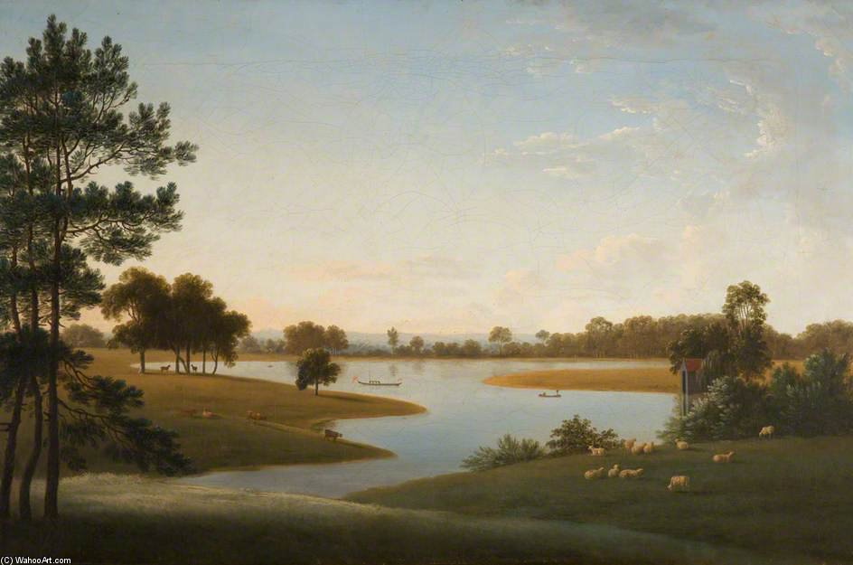 Tabley - Le Parc Et Mere de Anthony Devis (1729-1816, United Kingdom)