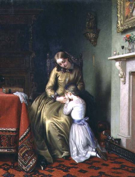 Temps De Prière de Charles West Cope (1811-1890, United Kingdom) | ArtsDot.com