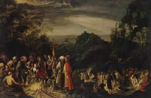 David Teniers The Elder - miracle de r paul sur l île de..