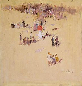Elioth Gruner - Bondi Beach