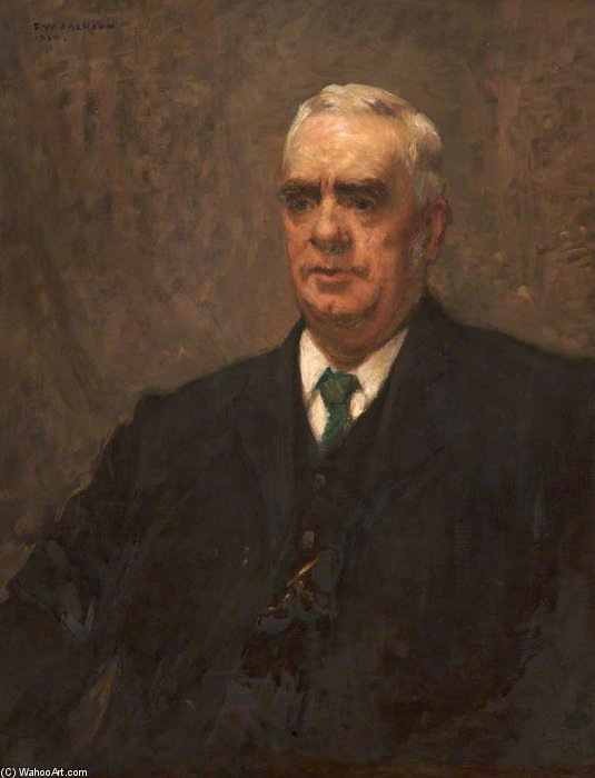 John Armitage, directeur de l école technique Oldham de Frederick William Jackson (1859-1918, United Kingdom)