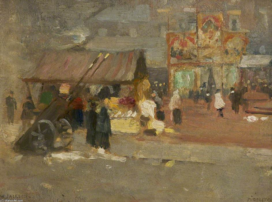 Marché Middleton de Frederick William Jackson (1859-1918, United Kingdom)
