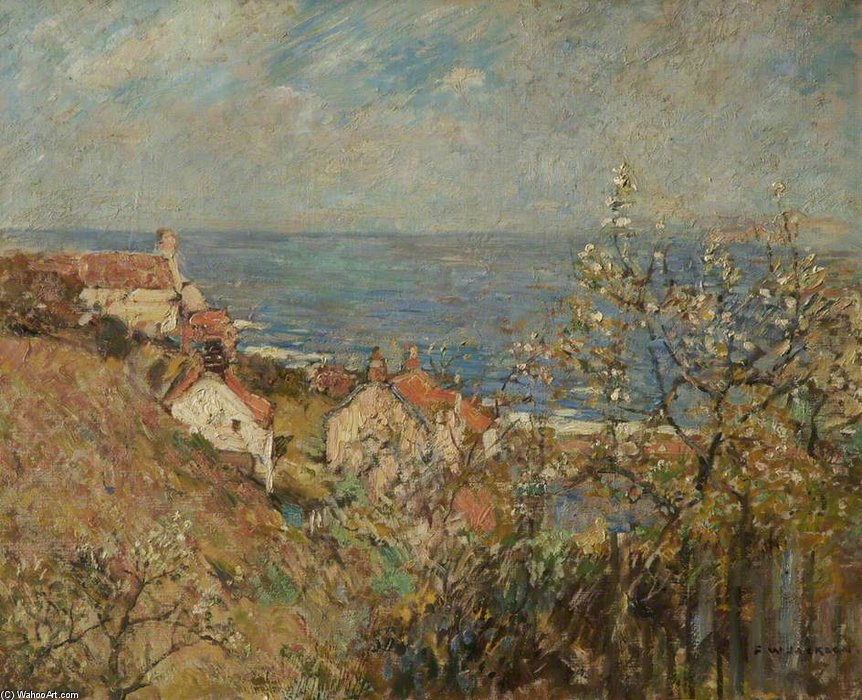 Runswick Bay de Frederick William Jackson  (acheter Fine Art tableau Encadrés Frederick William Jackson)