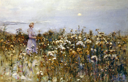 été ensoleillé de Frederick William Jackson (1859-1918, United Kingdom)