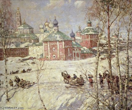 Le Kremlin de Frederick William Jackson (1843-1942, United States)