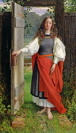 la foi de George Dunlop Leslie (1835-1921, United Kingdom) | Copie Tableau | ArtsDot.com