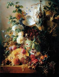 Georgius Jacobus Johannes.. - nature morte de  fruits