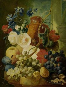 Jan Van Os - Fruit Piece