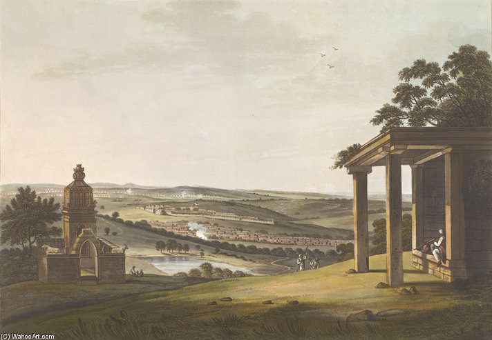 A View Of Ossoore de Thomas And William Daniell (1769-1837, United Kingdom)