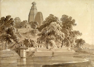 Thomas And William Daniell - Madan Mohan Temple, Sur La Yam..