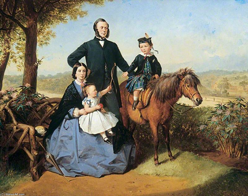 famille groupe de Thomas Barker (1769-1847, United Kingdom)