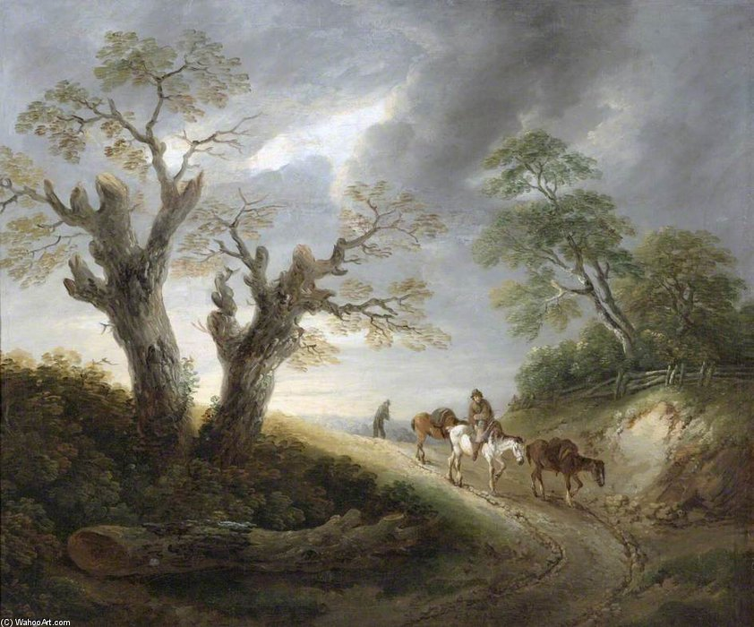 paysage de Thomas Barker (1769-1847, United Kingdom)