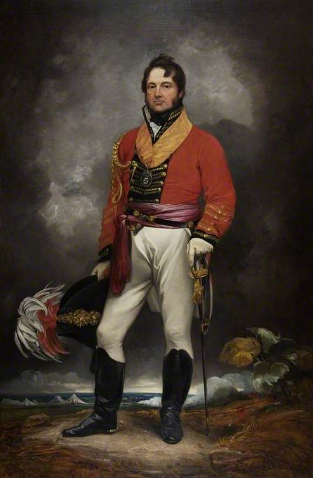 Le lieutenant-général Sir William Cockburn de Thomas Barker (1769-1847, United Kingdom)