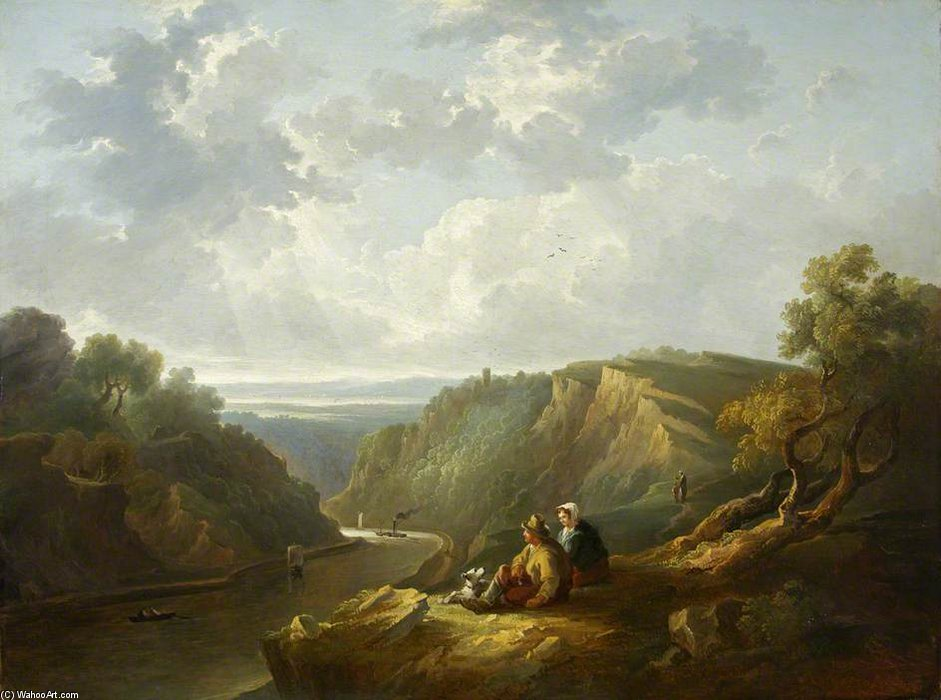 La Gorge Avon de Thomas Barker (1769-1847, United Kingdom)