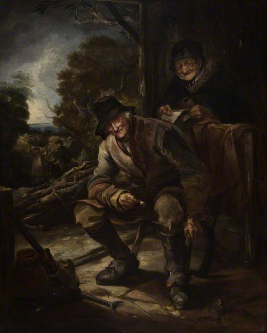 The Old Woodman de Thomas Barker (1769-1847, United Kingdom)