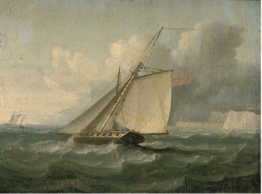 La Poursuite de Thomas Buttersworth (1768-1842, United Kingdom)