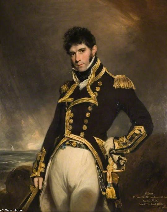 Capitaine Gilbert Heathcote de William Owen (1769-1825, United Kingdom) | Reproduction Peinture | ArtsDot.com