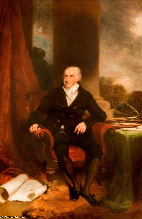 John Sparrow, président des sessions trimestrielles de William Owen (1769-1825, United Kingdom) | Copie Tableau | ArtsDot.com