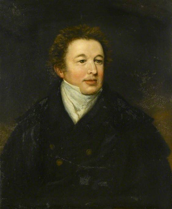 Portrait d un homme de William Owen (1769-1825, United Kingdom)