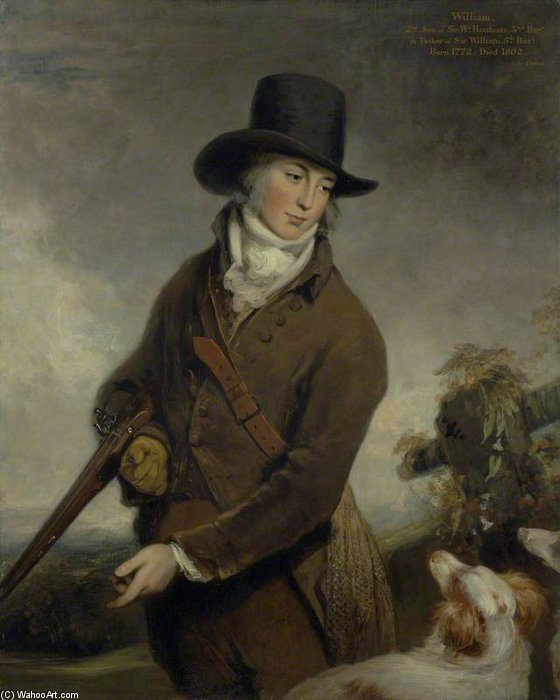 Révérend William Heathcote de William Owen (1769-1825, United Kingdom) | Reproductions D'art Sur Toile | ArtsDot.com