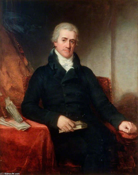 Sir Samuel Romilly de William Owen (1769-1825, United Kingdom)