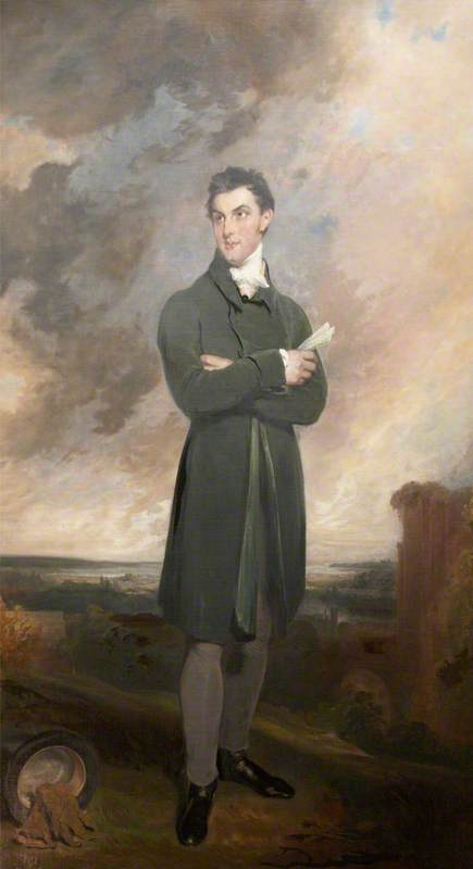 Sir Thomas Dyke Acland de William Owen (1769-1825, United Kingdom)