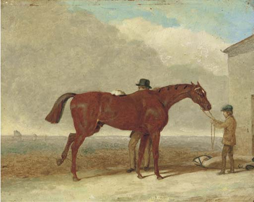 Epsom Downs, avant la course de Abraham Cooper (1787-1868, United Kingdom) | Reproductions De Qualité Musée | ArtsDot.com