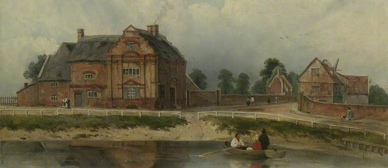 King Hall, Wisbech de Frederick Waters (William) Watts (1800-1870, United Kingdom)