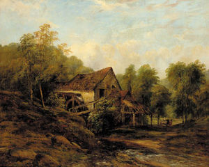 Frederick Waters (William) Watts - l-ancienne eau mill