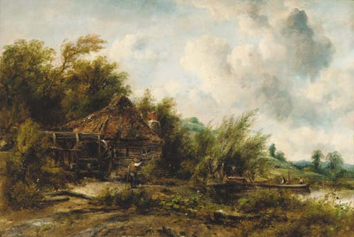Le Moulin de Frederick Waters Watts (1800-1870, United Kingdom)