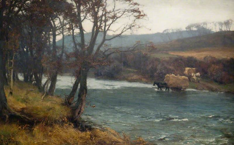 paysage de David Farquharson (1839-1907, United Kingdom)