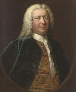Thomas Frye - Portrait Of Henry Crispe de Catton
