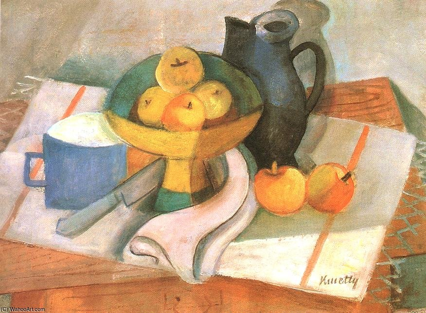Nature morte de Janos Kmetty (1889-1975, Hungary) | Reproductions De Qualité Musée | ArtsDot.com