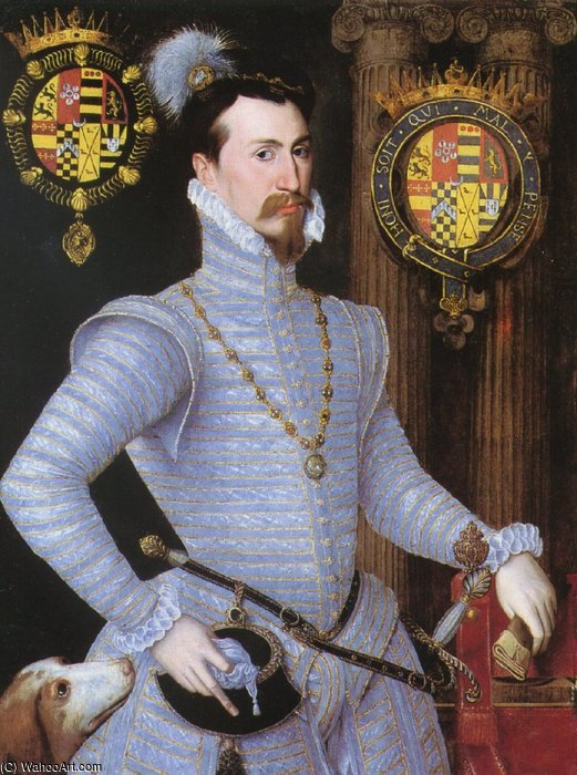Earl Of Leicester. de Robert Dudley (1826-1909, United Kingdom)