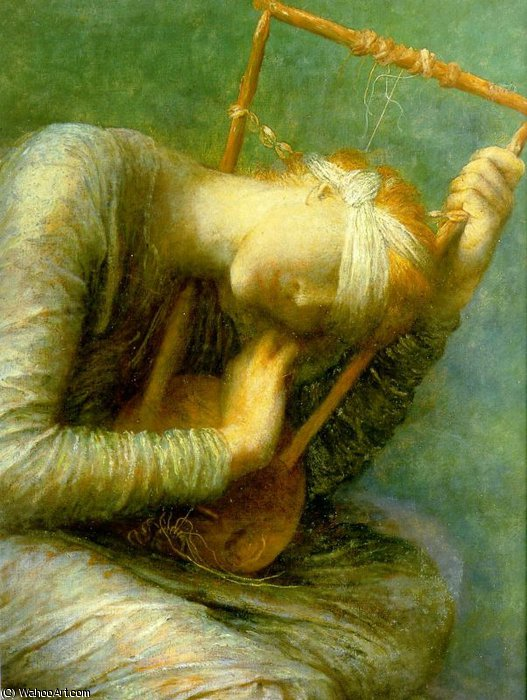 Hope (détail) de Frederick Waters Watts (1800-1870, United Kingdom)