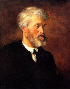Frederick Waters Watts - Portrait de Thomas Carlyle