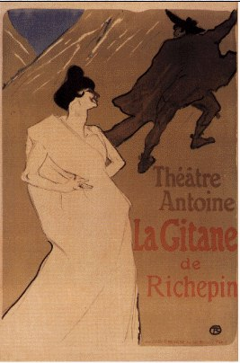 gitane de Henri De Toulouse Lautrec (1864-1901, Second French Empire)