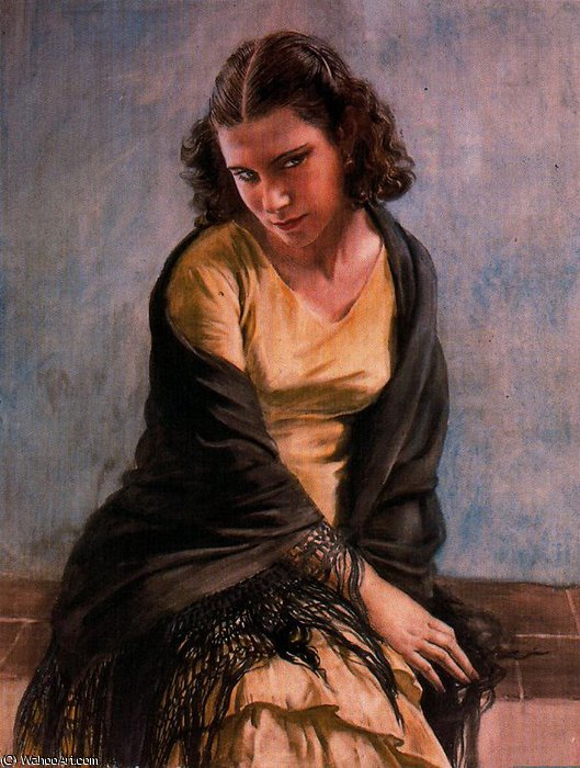 sans titre (431) de Jorge Apperley (George Owen Wynne Apperley) (1884-1960, United Kingdom)