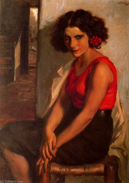 sans titre (485) de Jorge Apperley (George Owen Wynne Apperley) (1884-1960, United Kingdom)